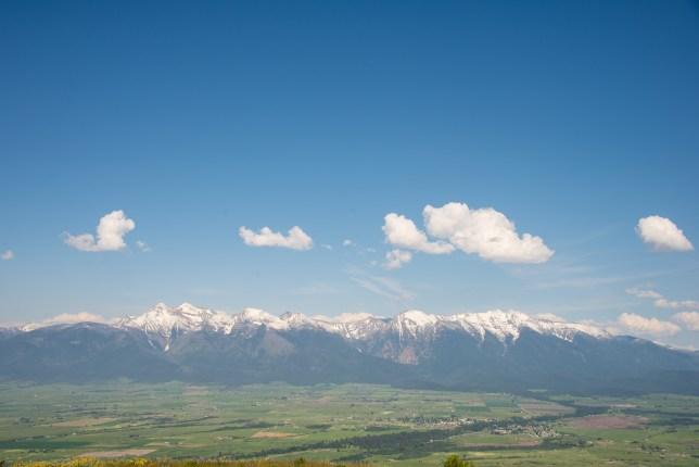 Bison National Range Vista