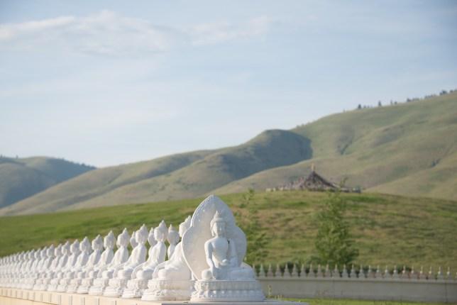 1,000 Buddhas With Hillside
