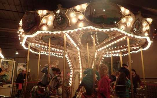 Hollow on the Inside – New England Carousel Museum