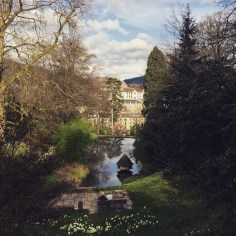 The view of Baden-Baden