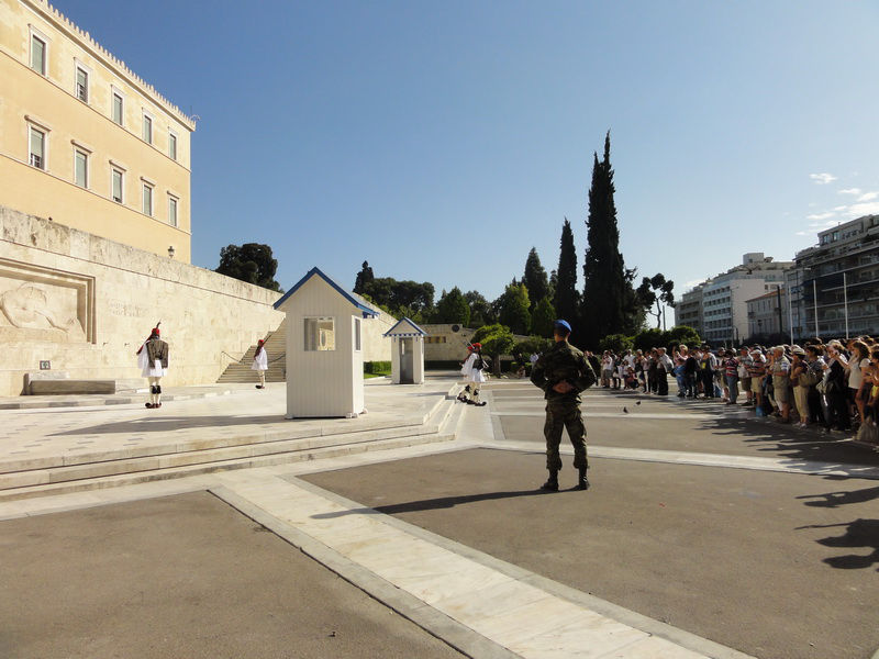 Change of the guard at Syntagma Square