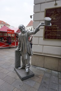 "Sculptures in Bratislava - ""The Beautiful"""