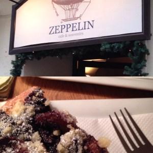 eating in Bratislava - cake