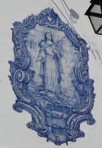 tiled art in Lisbon