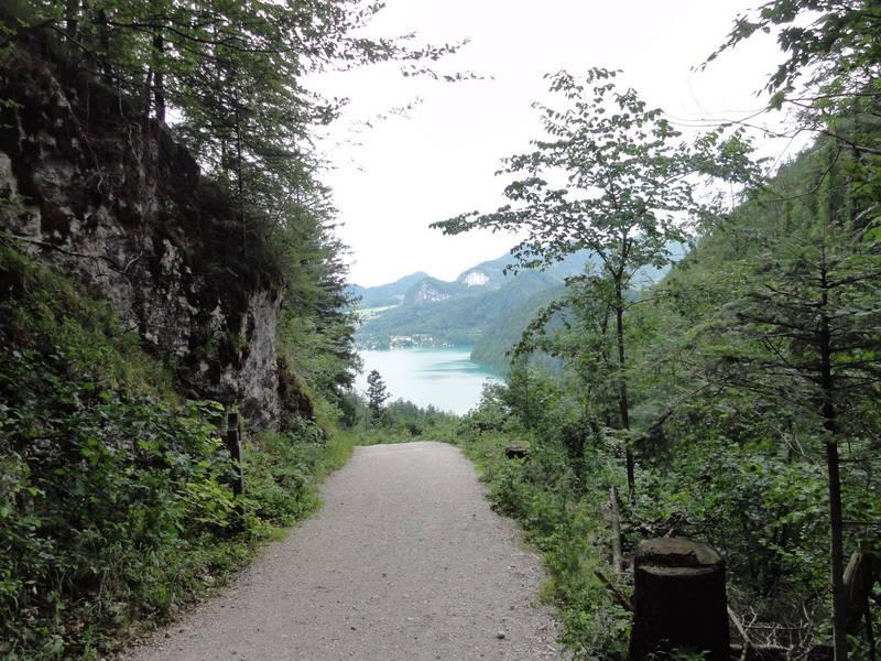 path of the pilgrims Lake Wolfgang