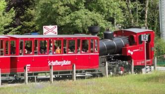 Experience cogwheel railway Schafbergbahn at Lake Wolfgang