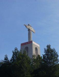 Lisbon Mini-Marathon Christos Statue