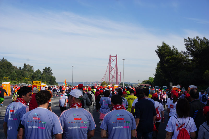 My first time - as a participant at the Lisbon Mini-Marathon