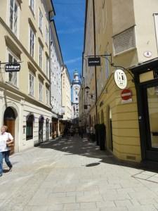 Salzburg - Jewish Street