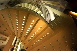 Radisson Blu in Bremen stairs