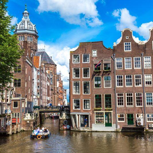 A walk through Amsterdam