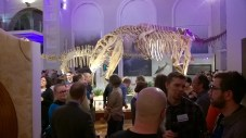Get-together party at the Museum of Natural History (Photo by Elina Mäntylä)