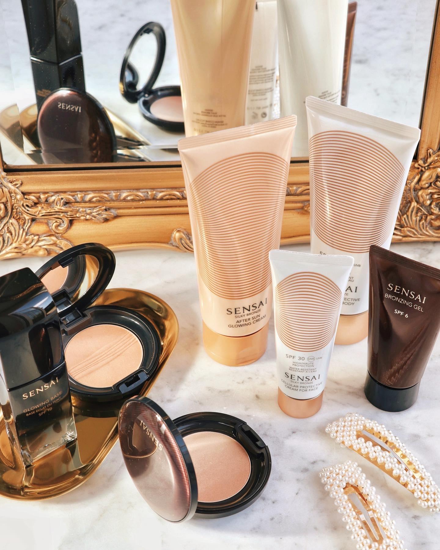 SENSAI Silky Bronze Cellular Protective Cream for Face & Body SPF30 & SPF50