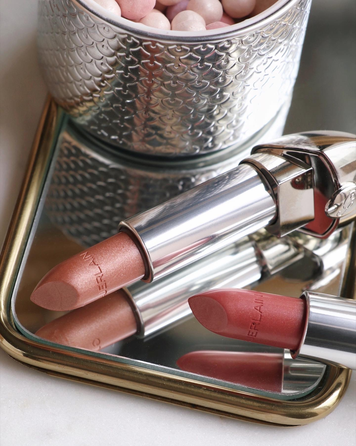 Guerlain Pearl Glow Spring Collection Rouge G Lipstick