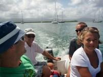 dinghy at max capacity