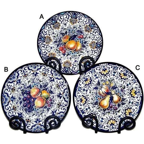 Hand Painted Ceramic Acapulco Fruit Plate