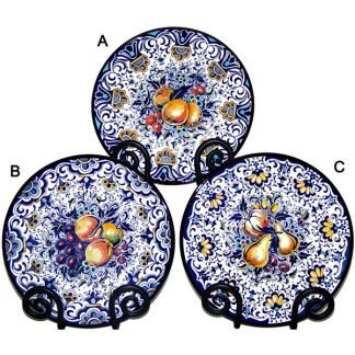 Hand Painted Ceramic Acapulco Fruit Plate