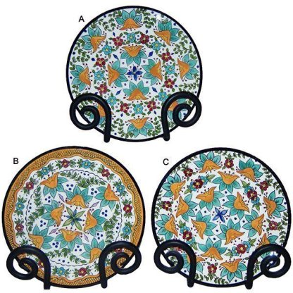 Country Orange Plate