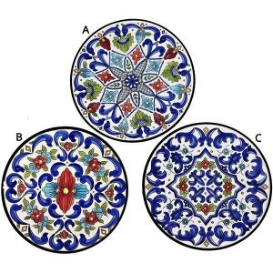 Hand Painted Azul Fino Plate