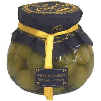 Gourmet Whole Green Olives from Spain