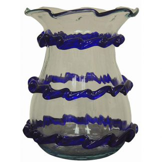 Hand Blown Glass Vase from Spain