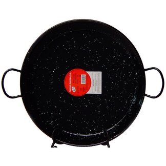 22 inch (55 cm) Authentic Enameled Paella Pan