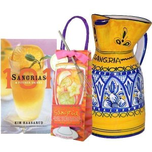 Ceramic Sangria Pitcher