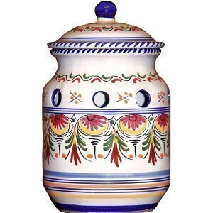 Ceramic Garlic Jar from Spain