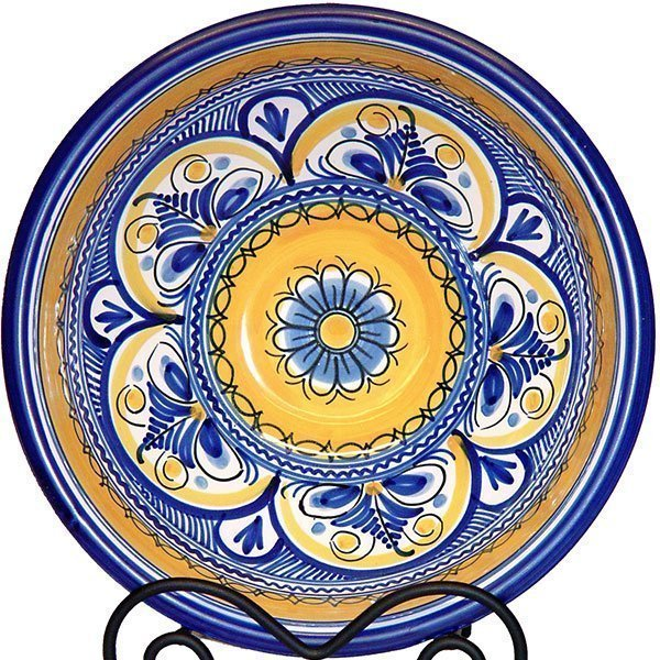 Spanish Ceramic Hand Painted Bowl