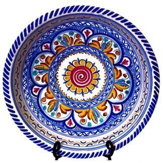 Ceramic Serving Bowl Especial.  Multicolor