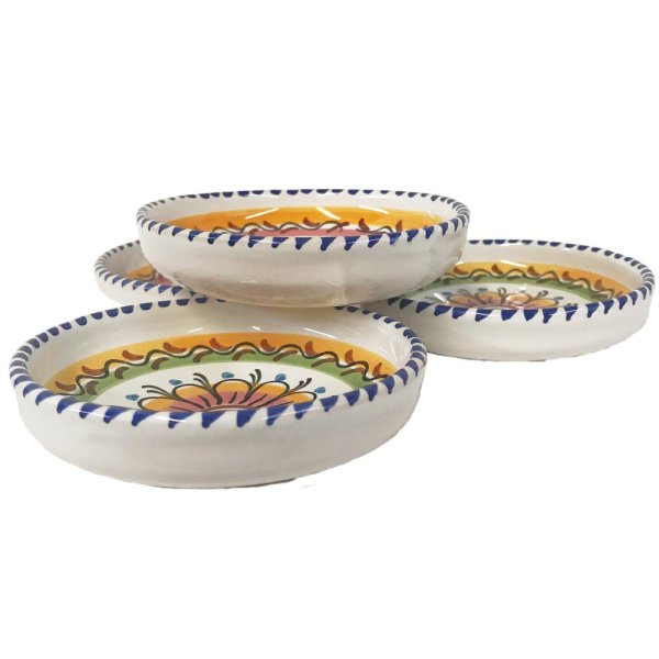 Multicolor Dipping Dishes