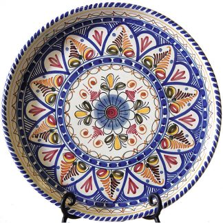 Hand Painted Ceramic Plate from Spain
