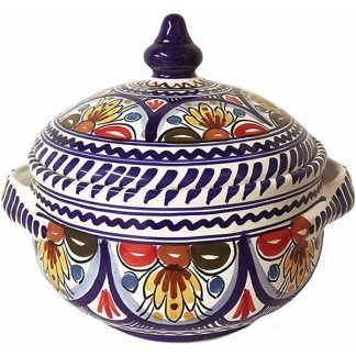 Spanish ceramic soup tureen