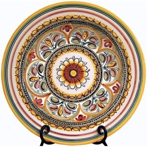 Seville Hand Painted Plate from Spain