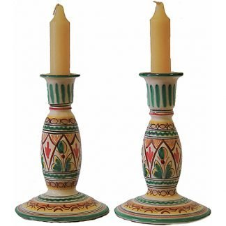 Ceramic Candlesticks from Spain