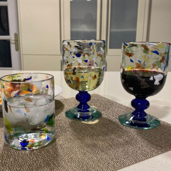 Confetti Wine Goblet