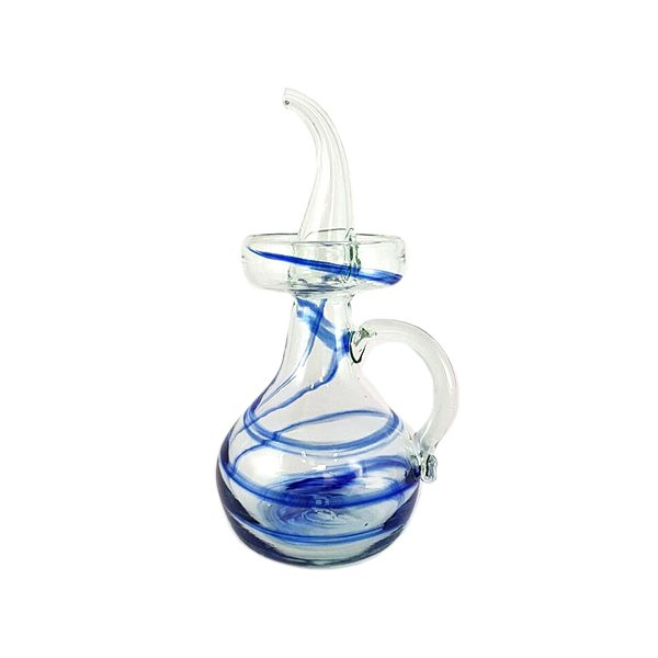 dripless olive oil decanter