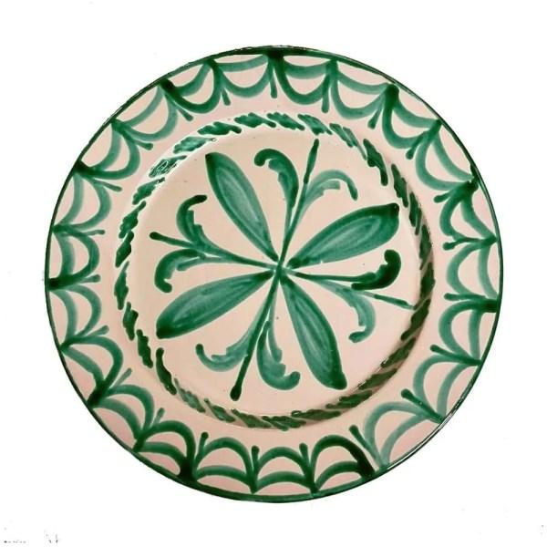 Green Granada Salad Plate