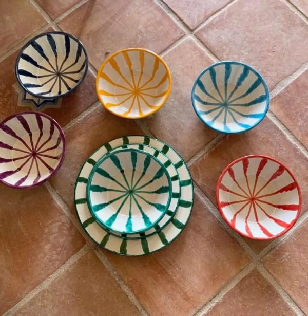 Granada Ceramic Plates