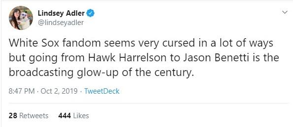 Hawk tweet