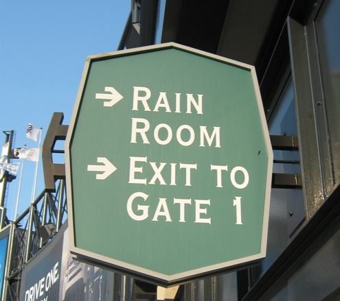 Rain-Room-Sign