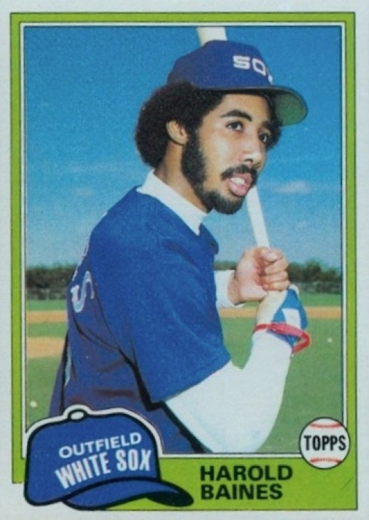 Harold Baines Rookie Card