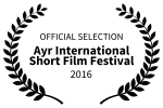 OFFICIAL SELECTION Ayr International Short Film Festival 2016 - Mano a Mono