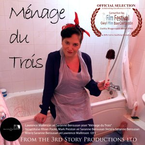 Ménage du Trois selected for Carmathern Bay Film Festival