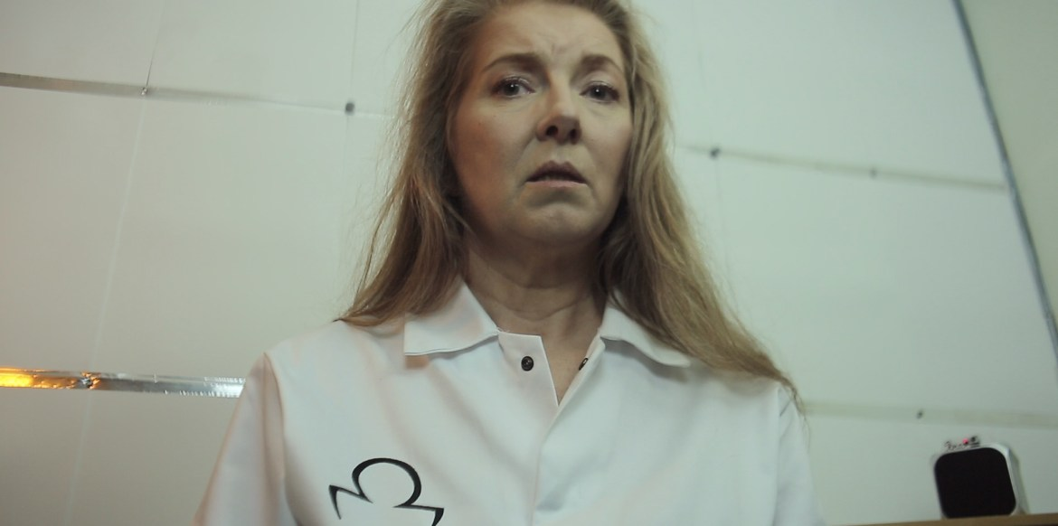 Stine Olsen playing the lead in Saranne Bensusan's film