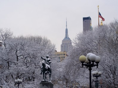 Union Square, NYC, Second Day of Spring