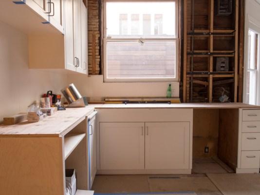 Kitchen Window & Sink Day Eight