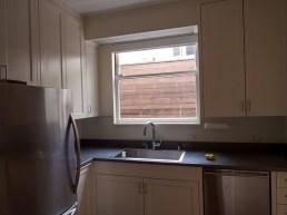 Kitchen Window & Sink Before