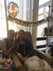 Making the Best of a Birthday at the Infusion Center