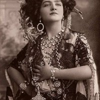 Edwardian Beauty Lily Elsie - The Most Photographed Woman in the World